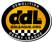 DEMOLITION DERBY LEAGUE  |  Official Site logo
